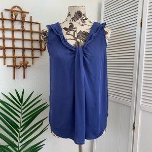Anthropologie Edme & Esyllte Silk Blouse Size 8